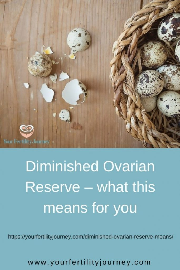 Diminished Ovarian Reserve or ovarian ageing - what this means for you
