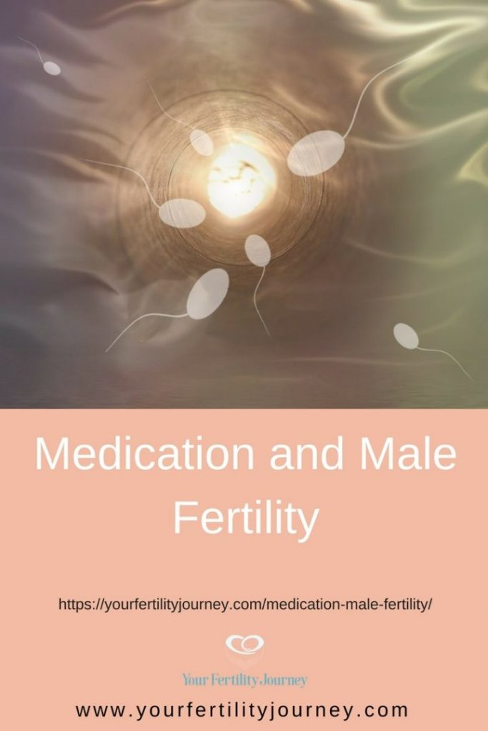 How medication can affect male fertility