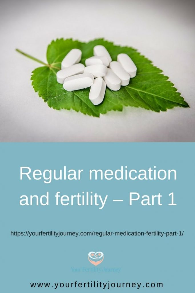 How certain medications affect fertility