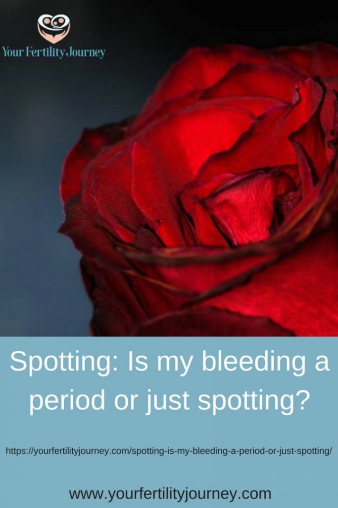 Spotting: Is my bleeding a period or just spotting?