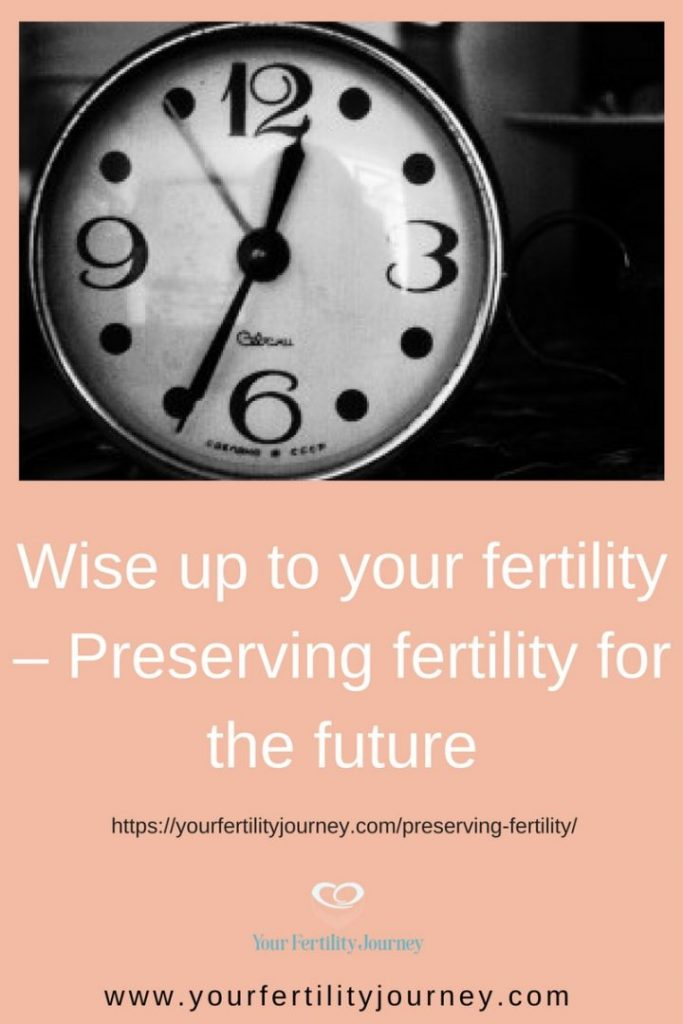 Wise up to your fertility - preserving fertility for the future