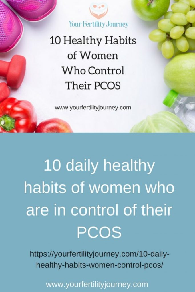 10 Healthy Habits of Women who Control Their PCOS
