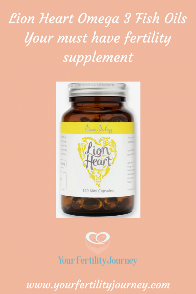 Introducing Lion Heart Omega 3 - Your must have Fertility